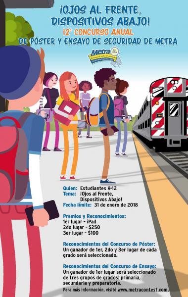 Metra Announces 12th Annual Safety Contest   Metra