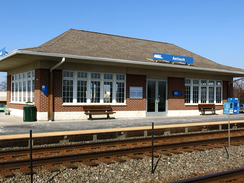 Antioch Il Zip Code Map.Stations Metra
