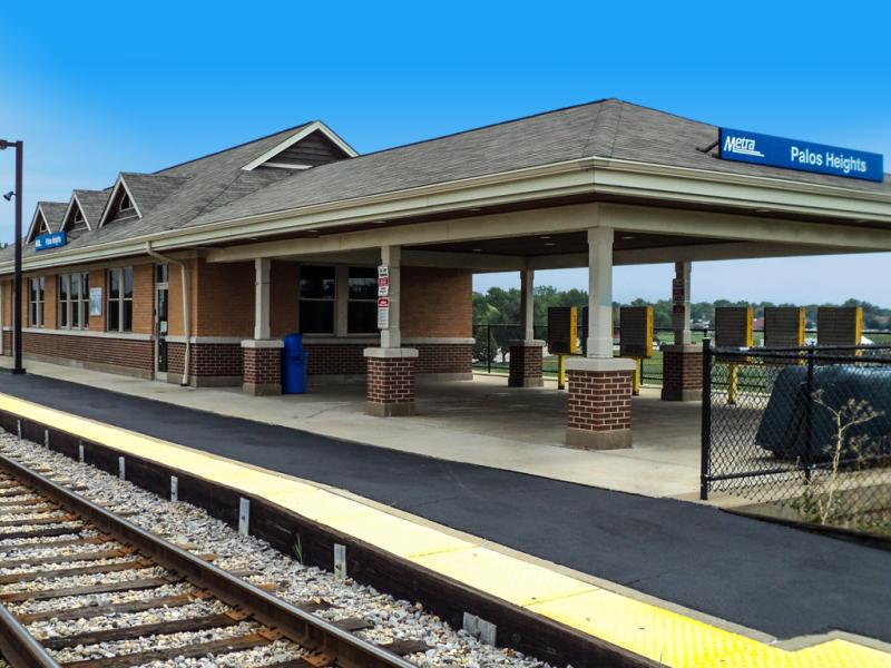 Metra Train Villa Park To Chicago