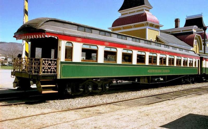 Pullman Palace Car Company's Gertrude Emma rail car